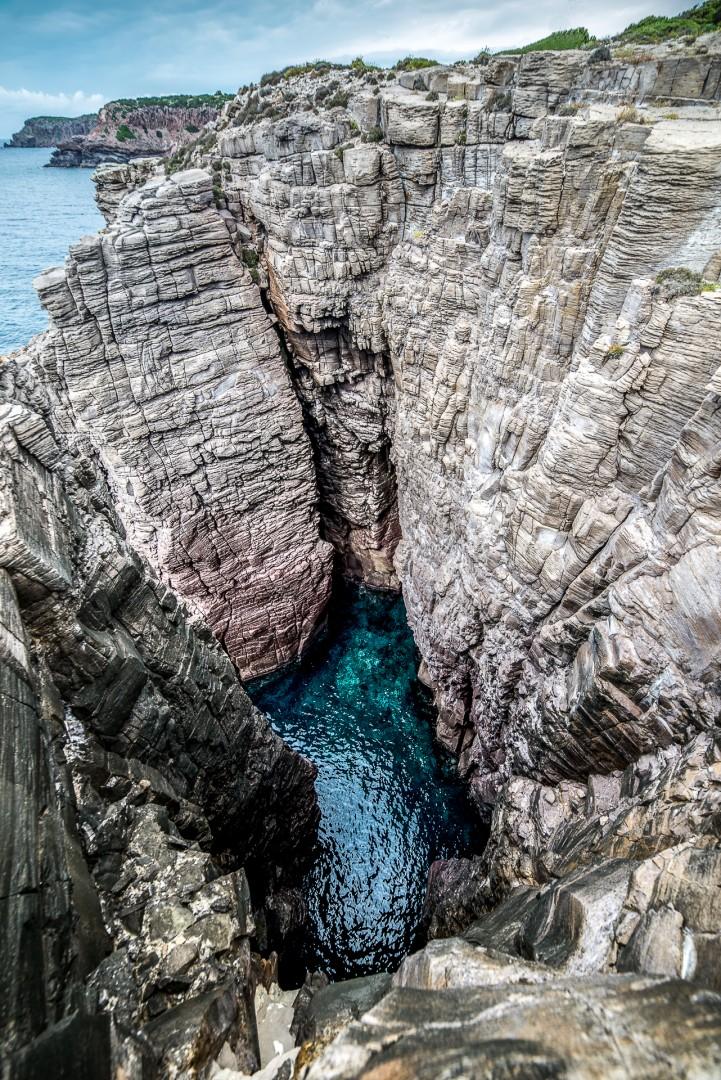 Isola di san pietro la spiaggia de la conca 90 km da for Isola arreda cagliari