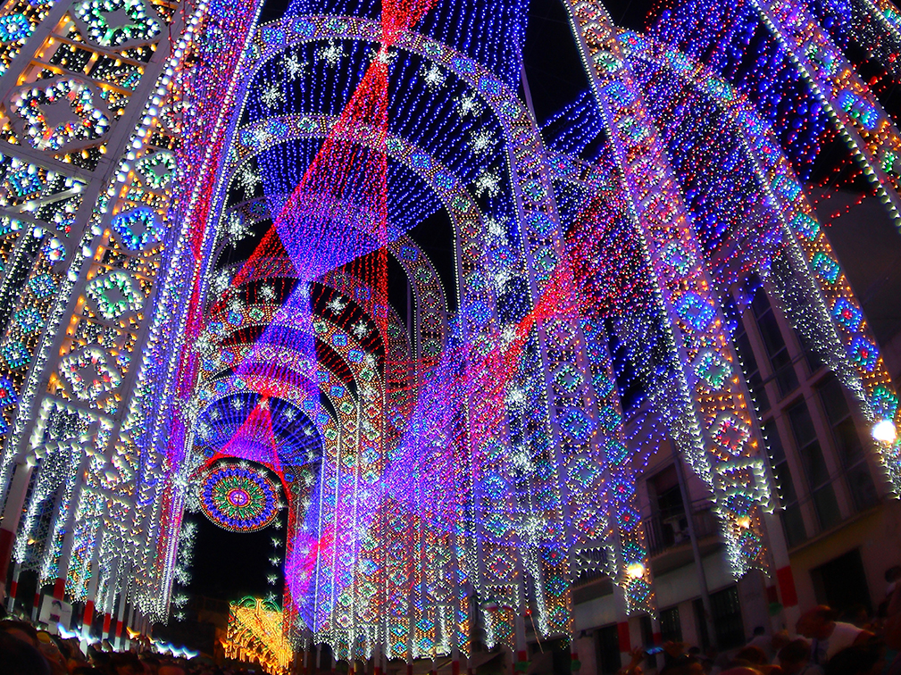 Scorrano Lighting Capital Of The World During Santa Domenica S Feast 77 Km To Brindisi Discover Other Italy