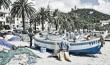 Noli, scorcio della spiaggia dei pescatori